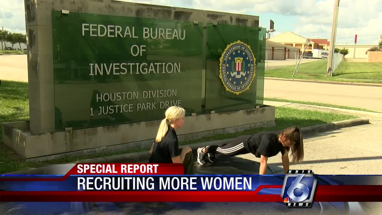 FBI aims to recruit more women into its ranks