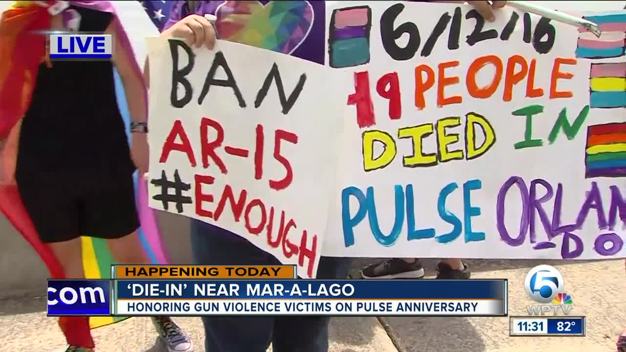 Die-in to honor Pulse victims scheduled - wptv.com