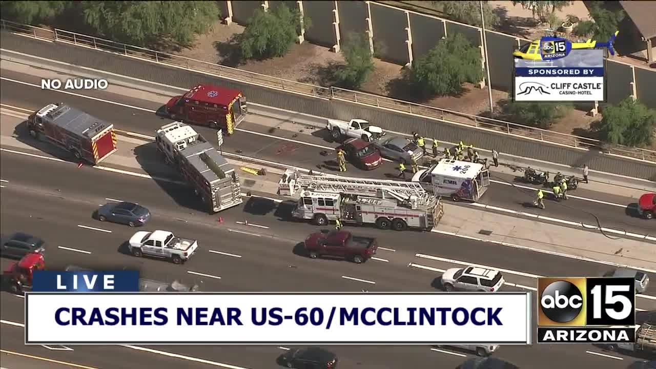 DPS: One killed during crash near US-60/McClintock
