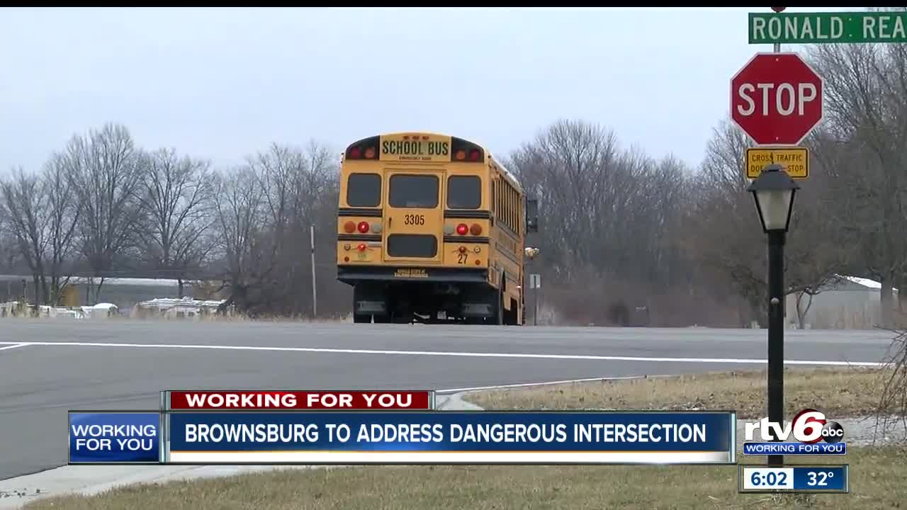 Brownsburg to address dangerous intersection