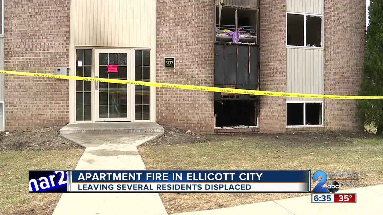 13 Residents Displaced After Ellicott City Apartment Fire