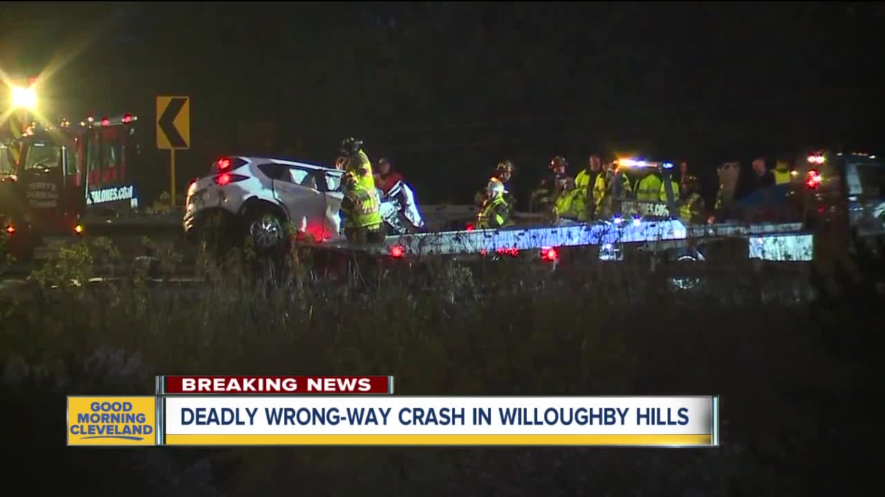 Woman killed in fatal crash involving suspected wrong-way