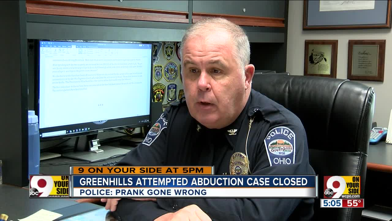 Reported abduction attempt was just YouTube 'prank,' police say