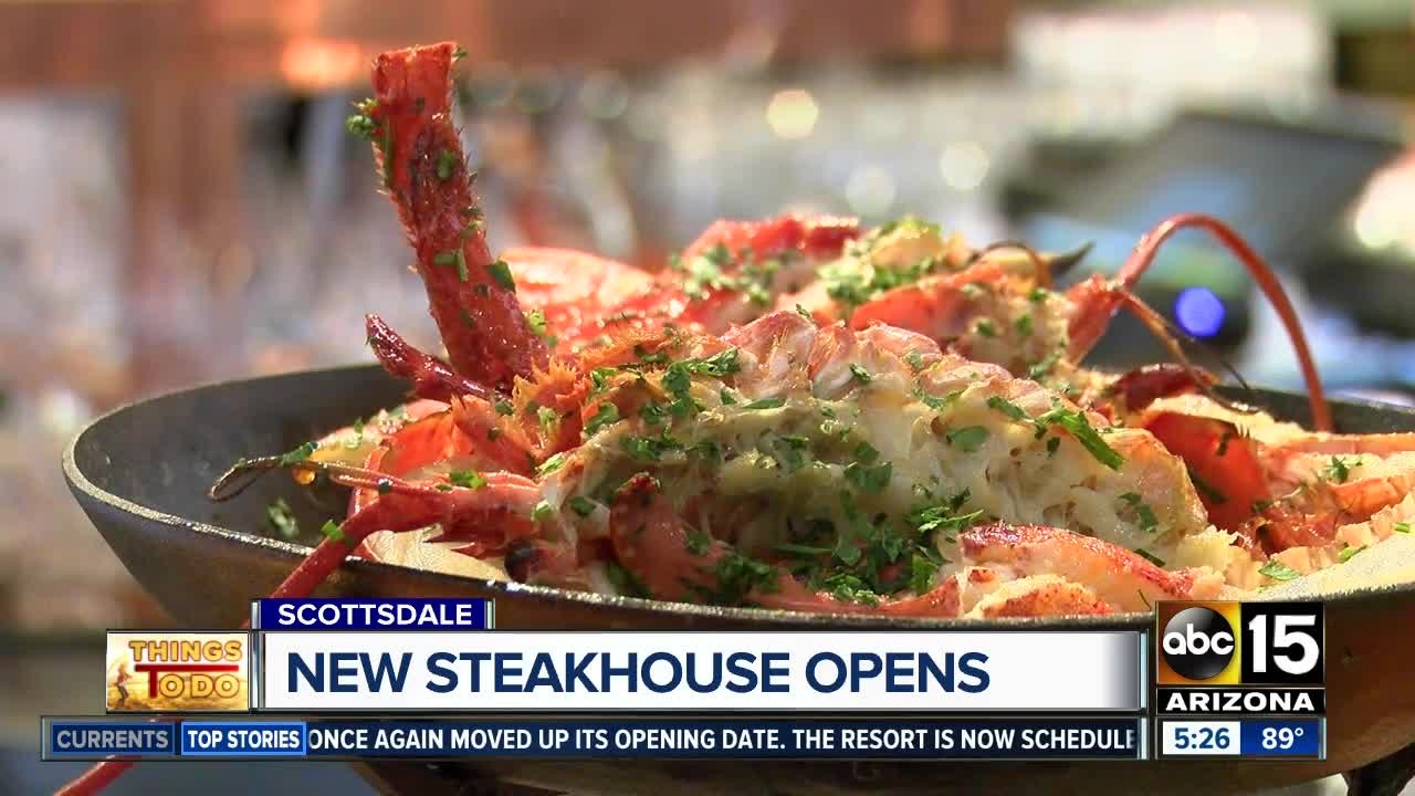 Chicago Steakhouse Maple Ash Opens Aug 20 At Scottsdale