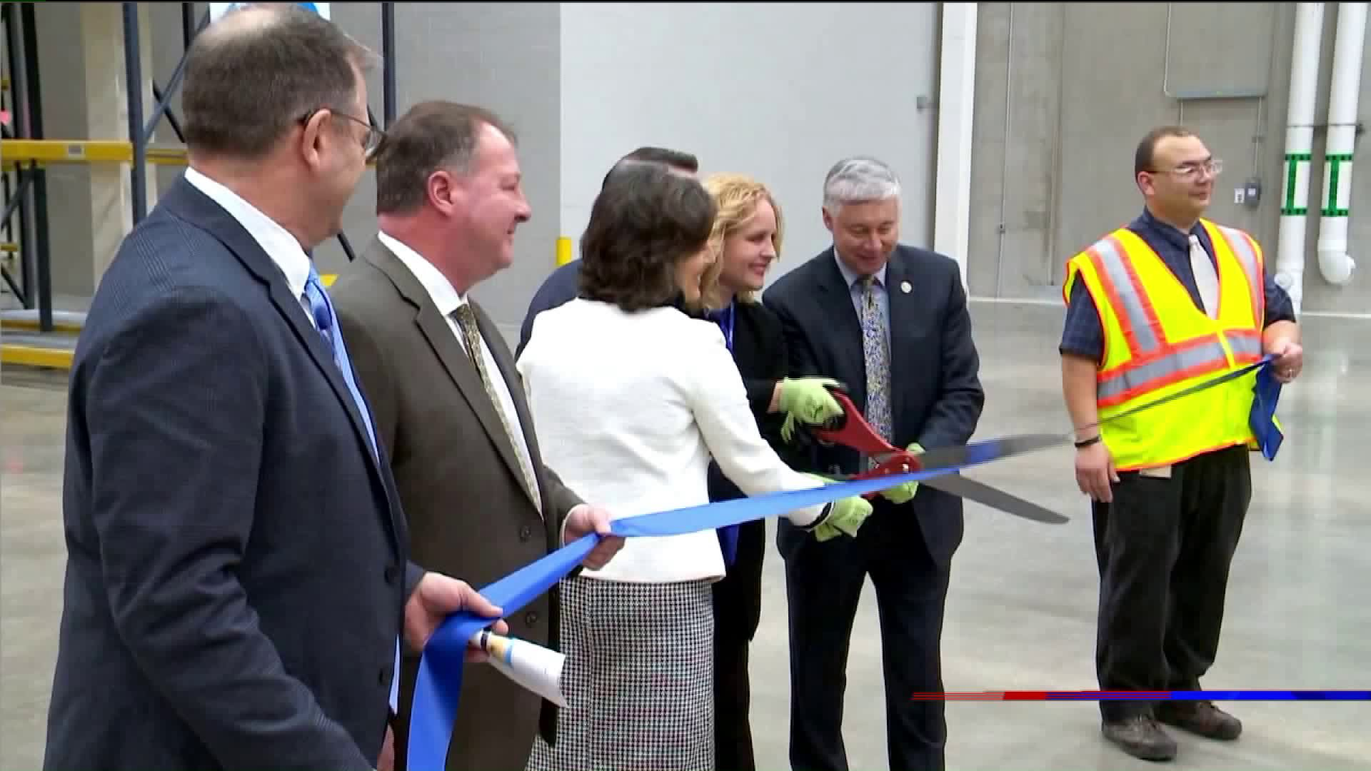 Pfizer Unveils New Warehouse Ready To Hire 200 New Employees