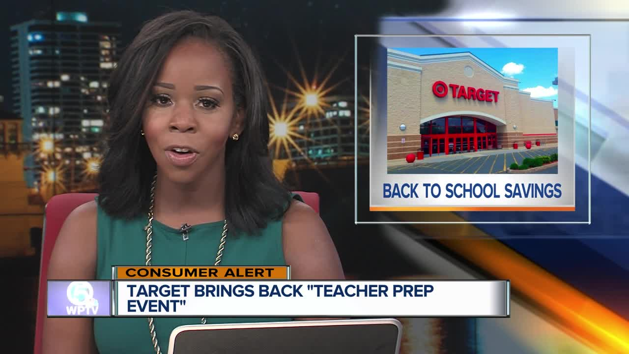 Teachers Get 15 Percent Off At Target For Back-To-School Shopping