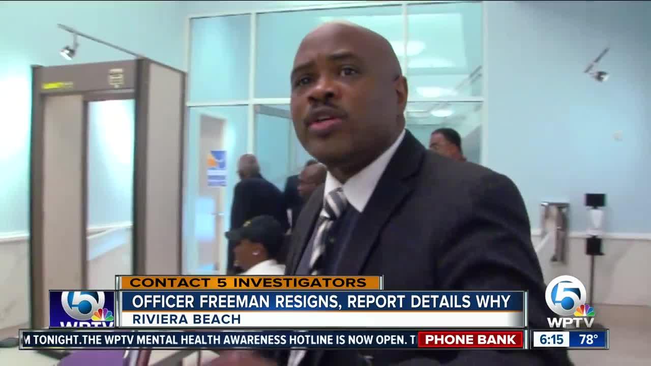 Riviera Beach police officer resigns under pressure after ...