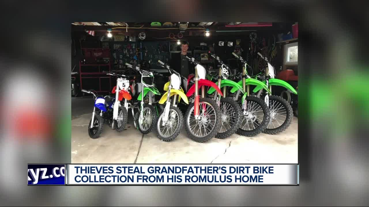 Thieves target disabled Romulus man, steal his collection of
