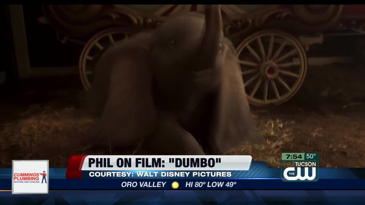 Action 'Dumbo' struggles to soar at box office