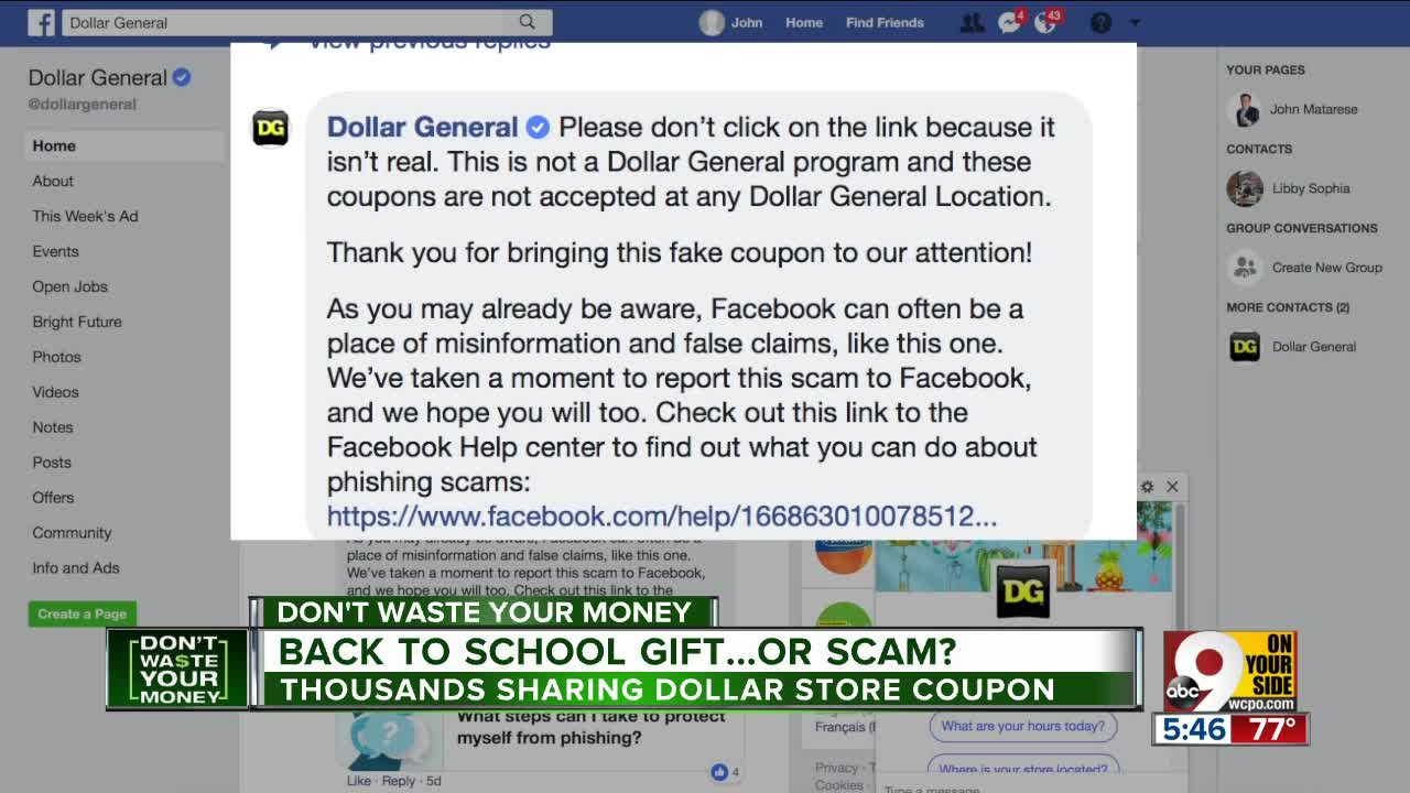Just In Time For Back To School Hundreds Of Thousands Of People Are Sharing A Great Coupon For Dollar General Stores