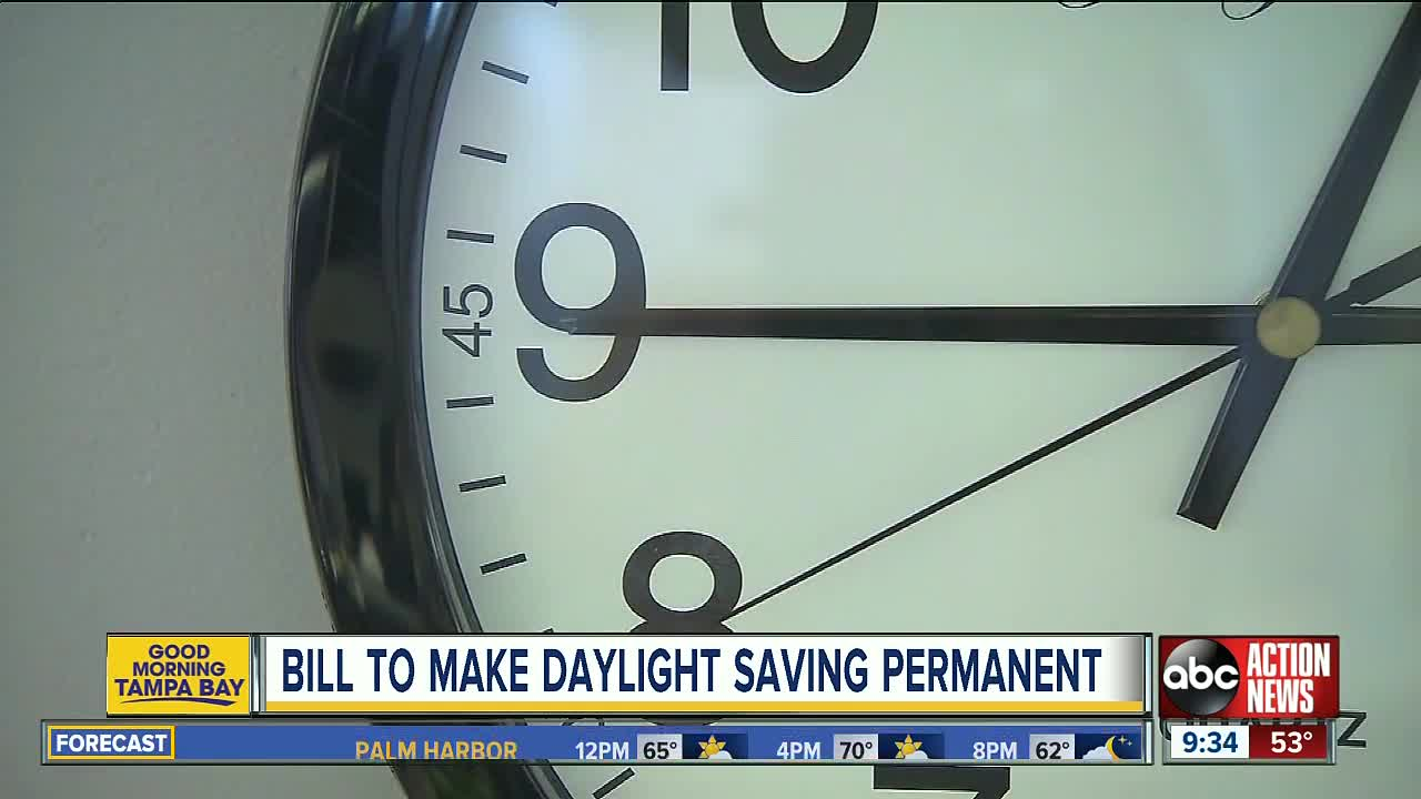 Daylight Saving Bill Moves Forward- Remember to Spring Forward Saturday Night