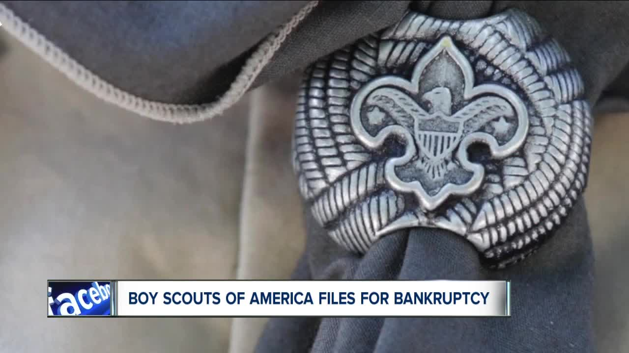 US Boy Scouts files for bankruptcy after abuse scandal