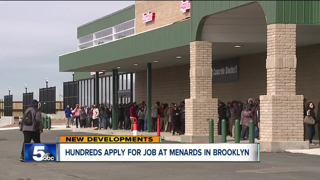 First day of Menards hiring fair brings big, dedicated crowd