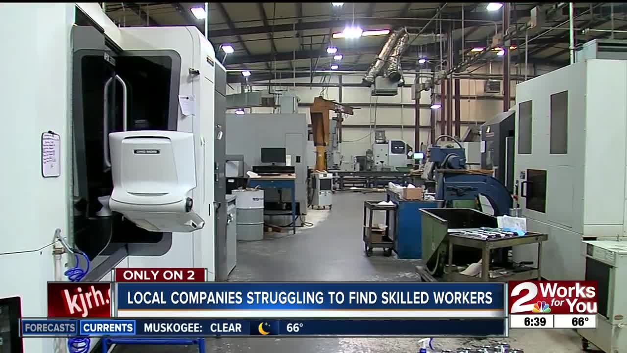 Manufacturers across the U S  face a skilled labor shortage