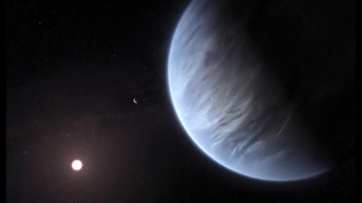 Water vapor detected in the atmosphere of a temperate mini-Neptune exoplanet