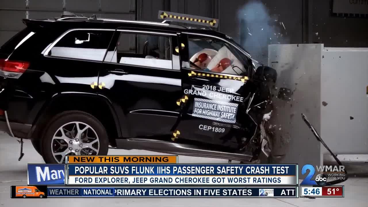 Two Popular Suvs Fail Passenger Crash Safety Test