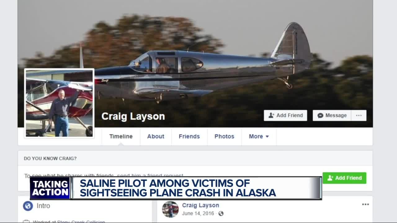 Metro Detroit man believed to be among the dead in Alaskan plane crash