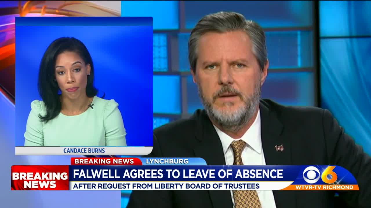 Liberty Chancellor Falwell takes indefinite leave of absence