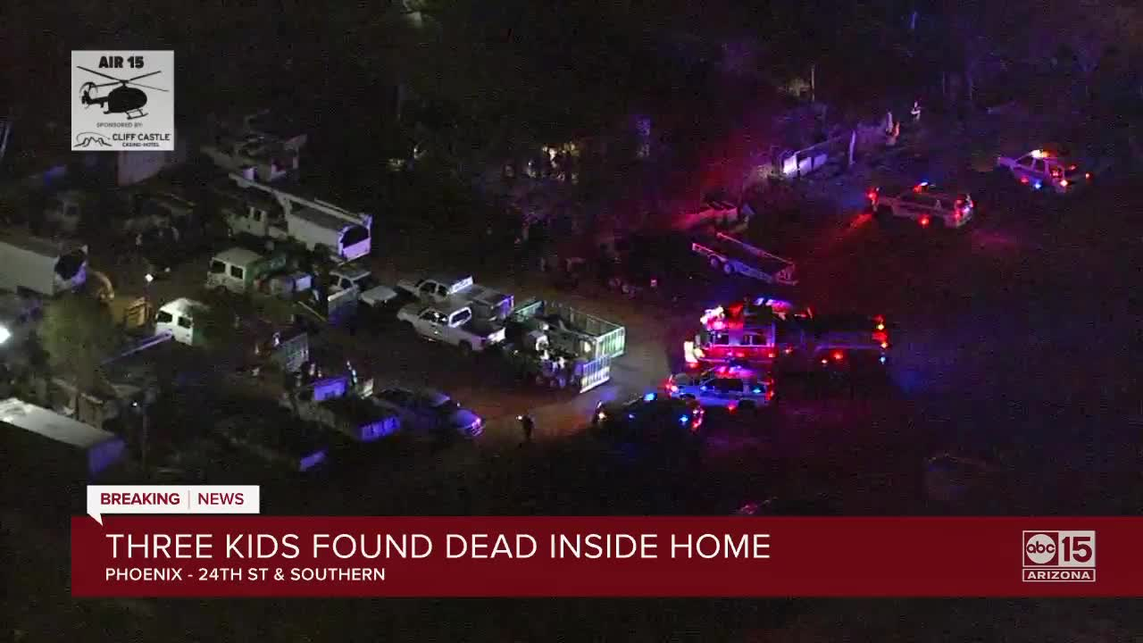 Phoenix police: 3 children pronounced dead inside home | Ap Wire