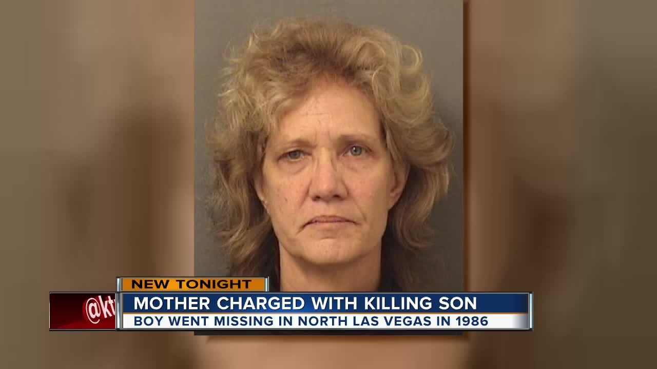 Florida woman arrested in death of son, 3, in Nevada in 1986