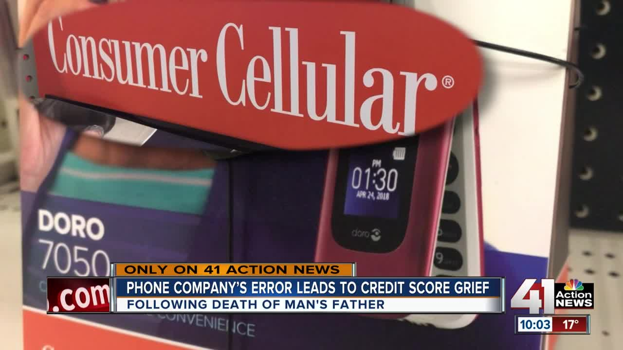 After losing father, cell phone company's mistake leads to