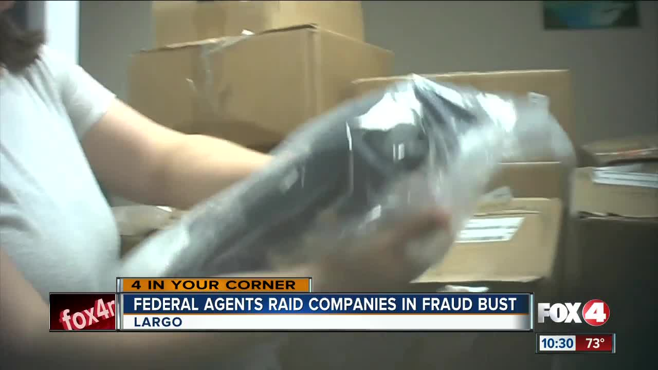 FL is key player in medical device fraud scheme described as