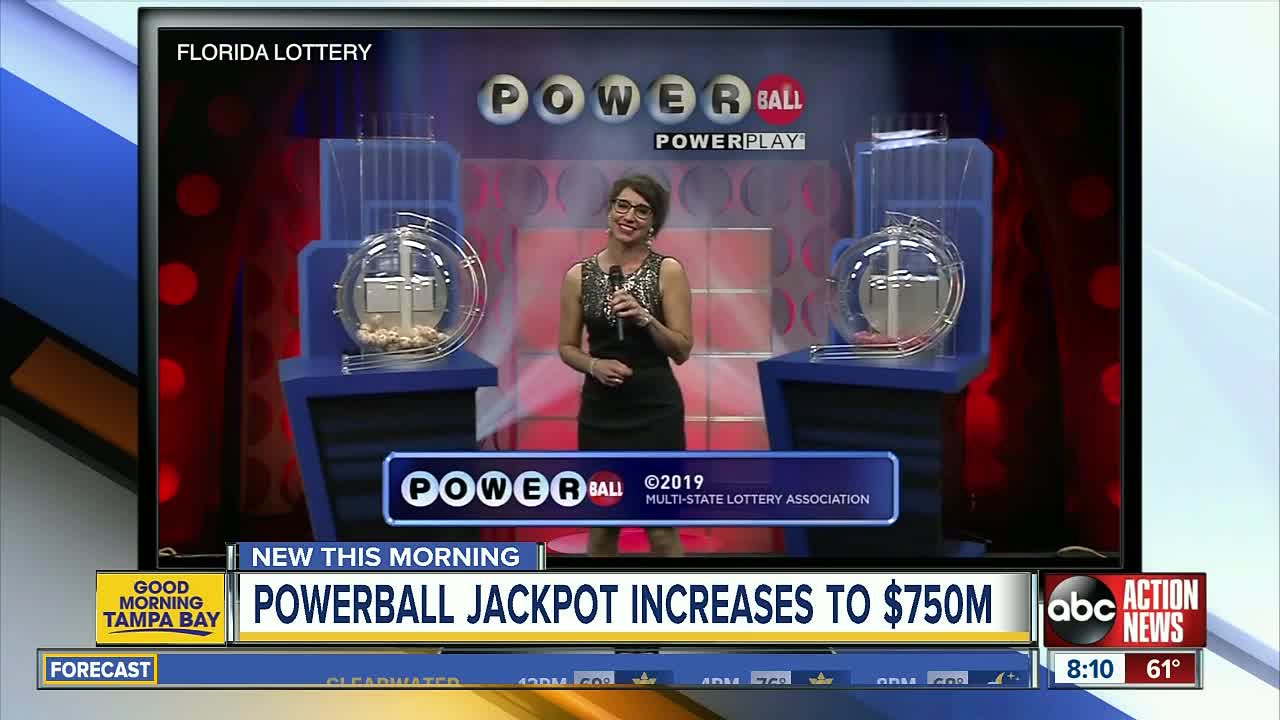 Powerball Jackpot Inches Closer To A Billion Dollars Two Tickets