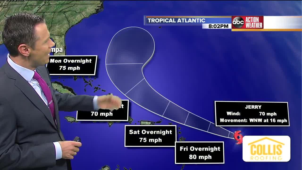 Jerry is a hurricane
