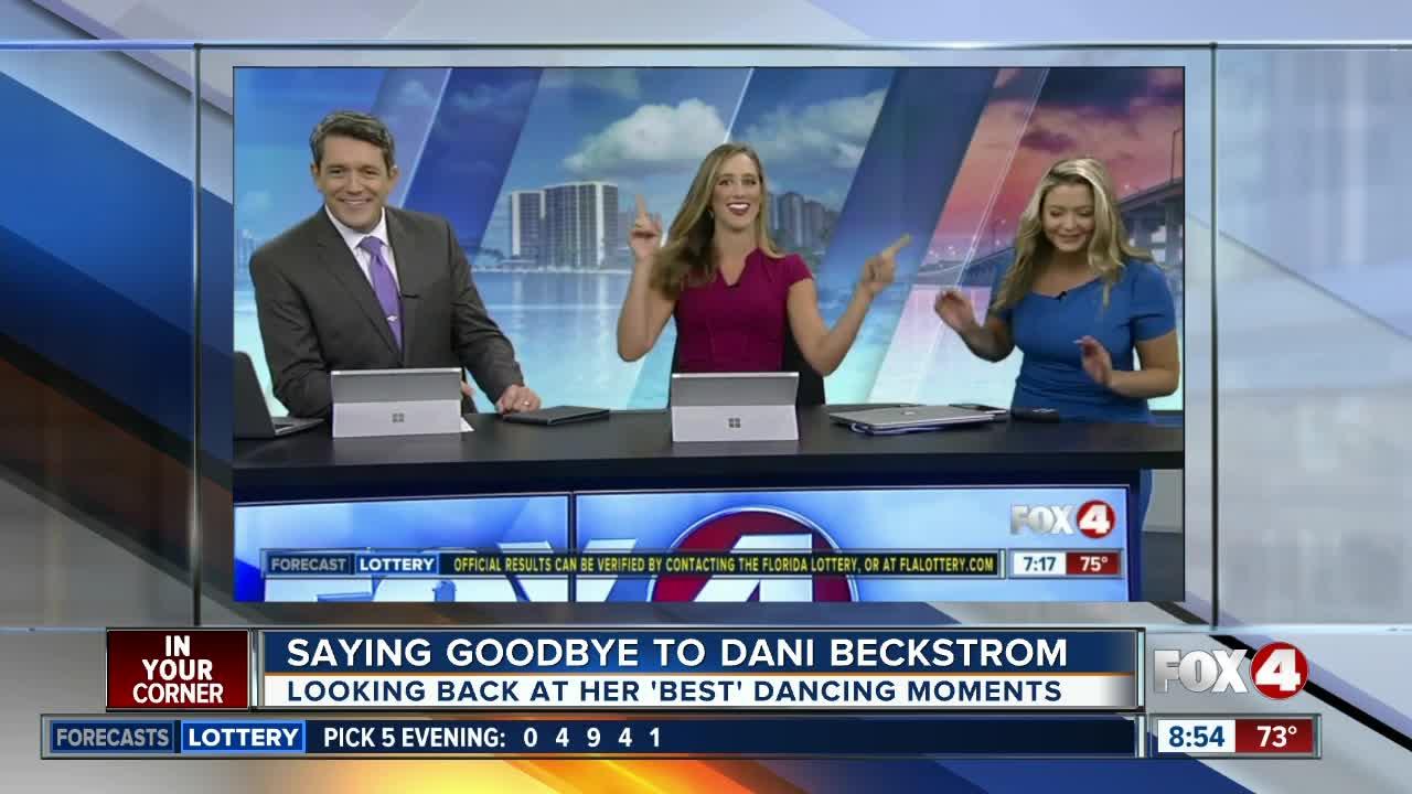 Saying goodbye to Fox 4's Dani Beckstrom