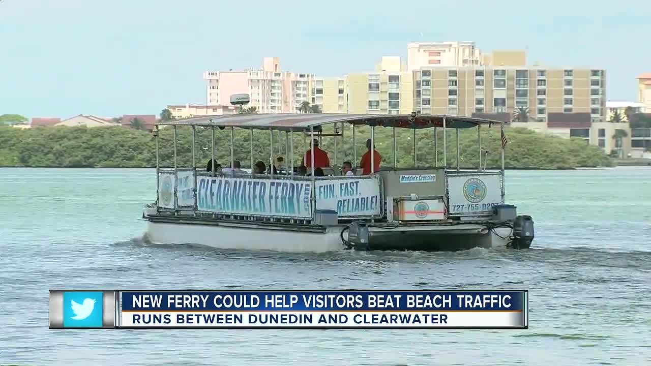 Ferry from Dunedin to Clearwater beach hopes to help traffic