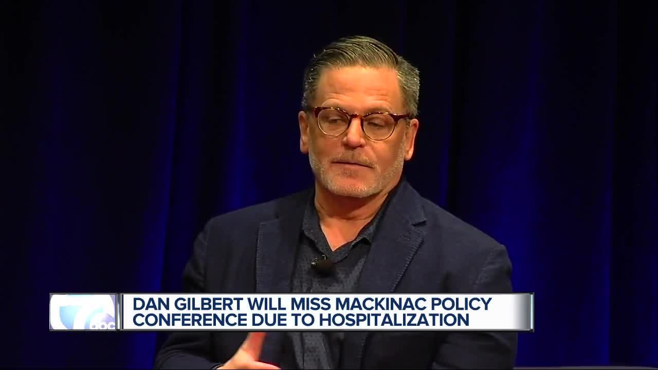 Dan Gilbert 'responsive and resting comfortably' after stroke