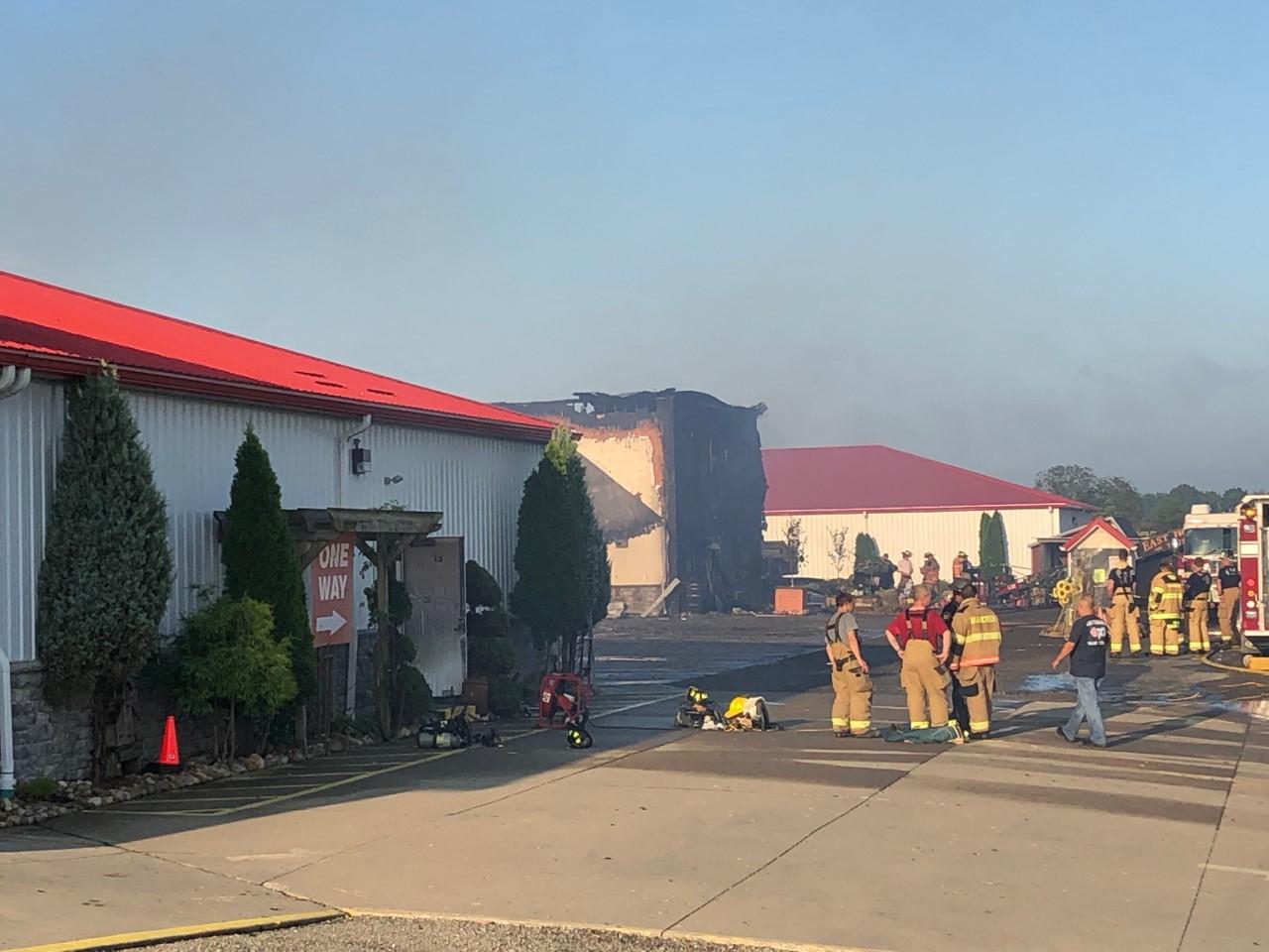 Massive fire destroys portion of cherished Walnut Creek
