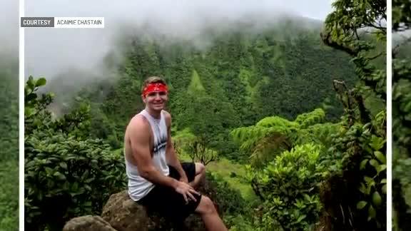 Honeymoon couple's near-death experience in St. Kitts volcano