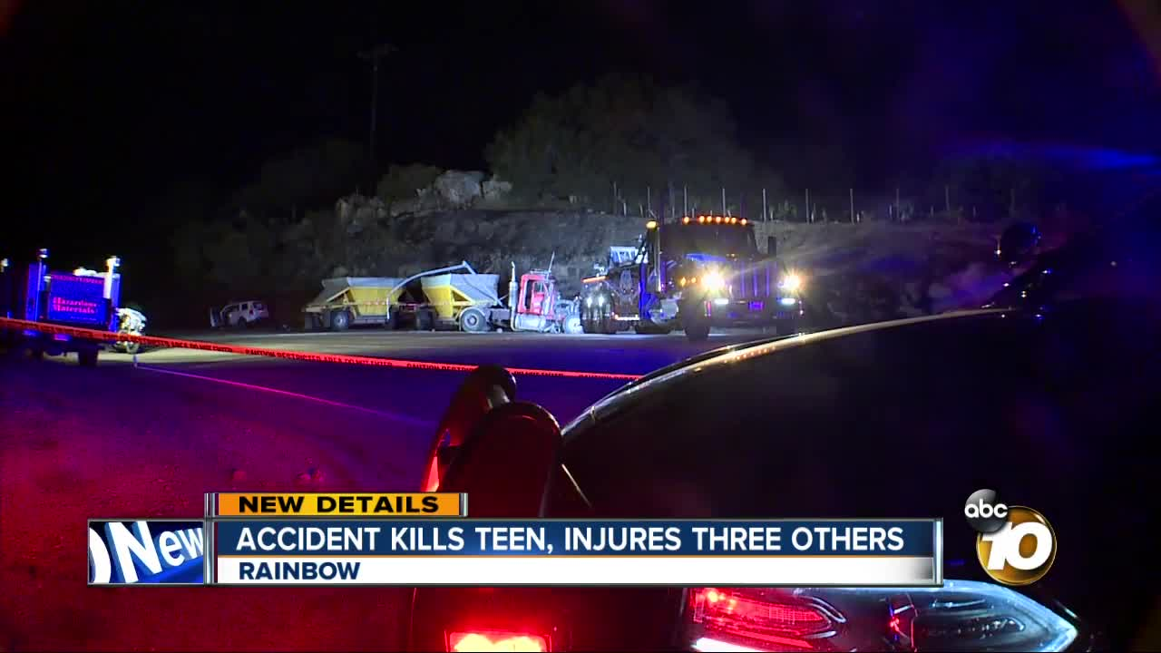 Boy, 13, killed, multiple people injured in big rig-SUV collision in