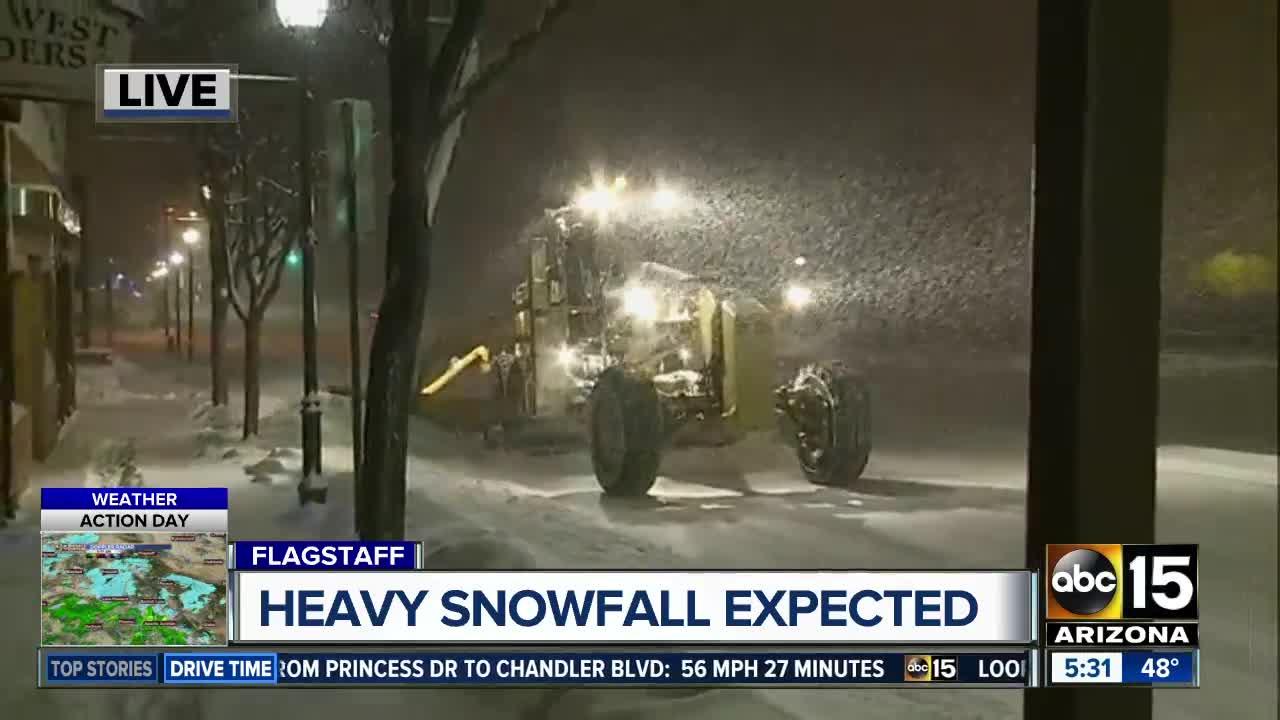 LIVE UPDATES: Track winter storm in Arizona