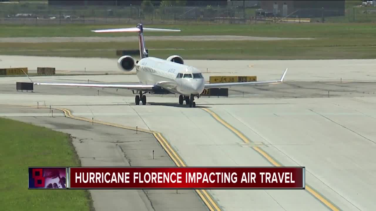 Here's a list of airline travel waivers and alerts for Hurricane
