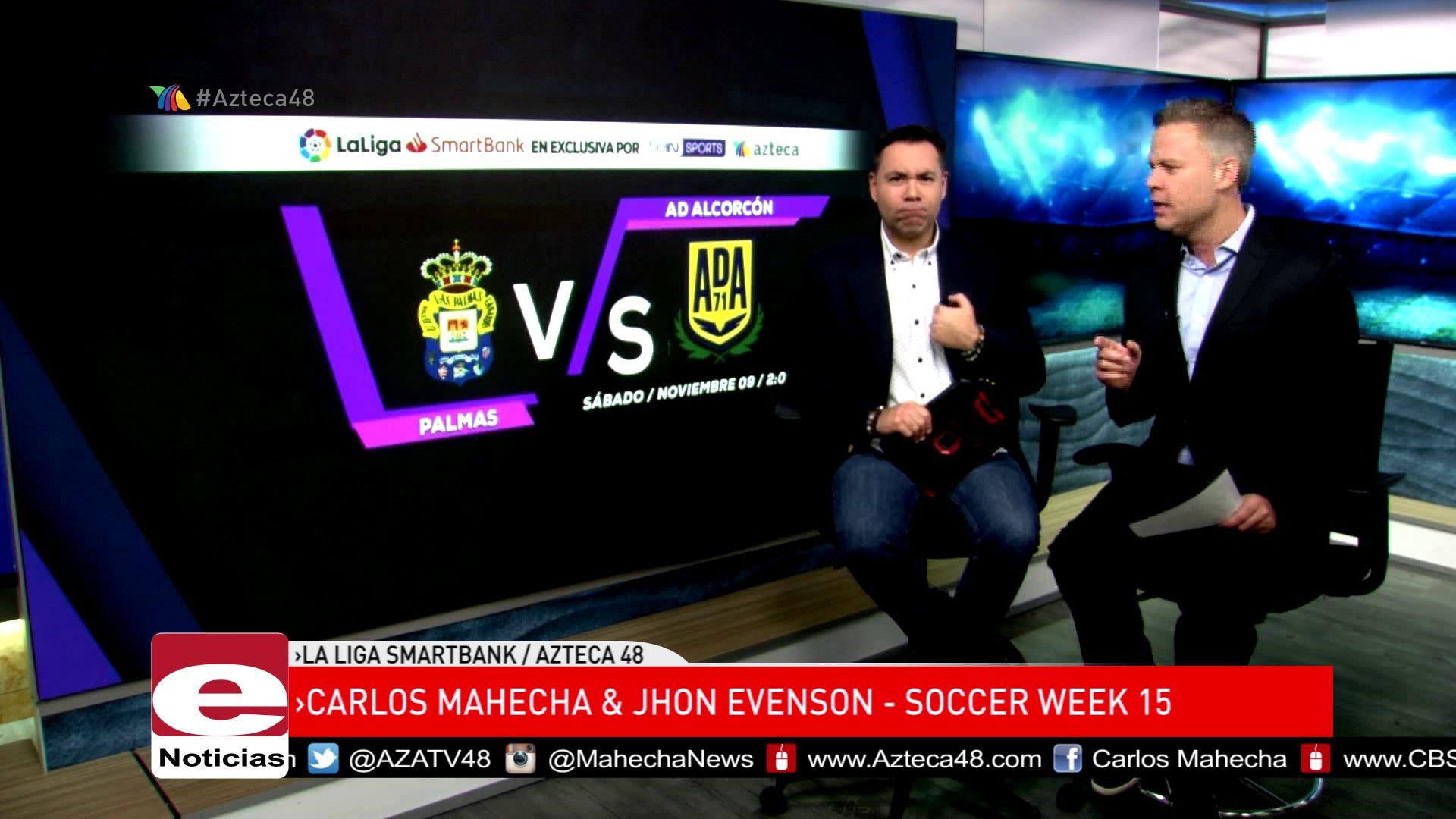 La Liga Smartbank semana 15 por Azteca 48!!!