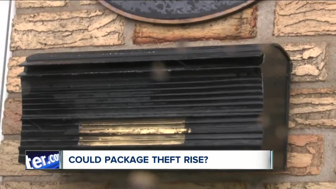 Could your packages become more susceptible to porch pirates?