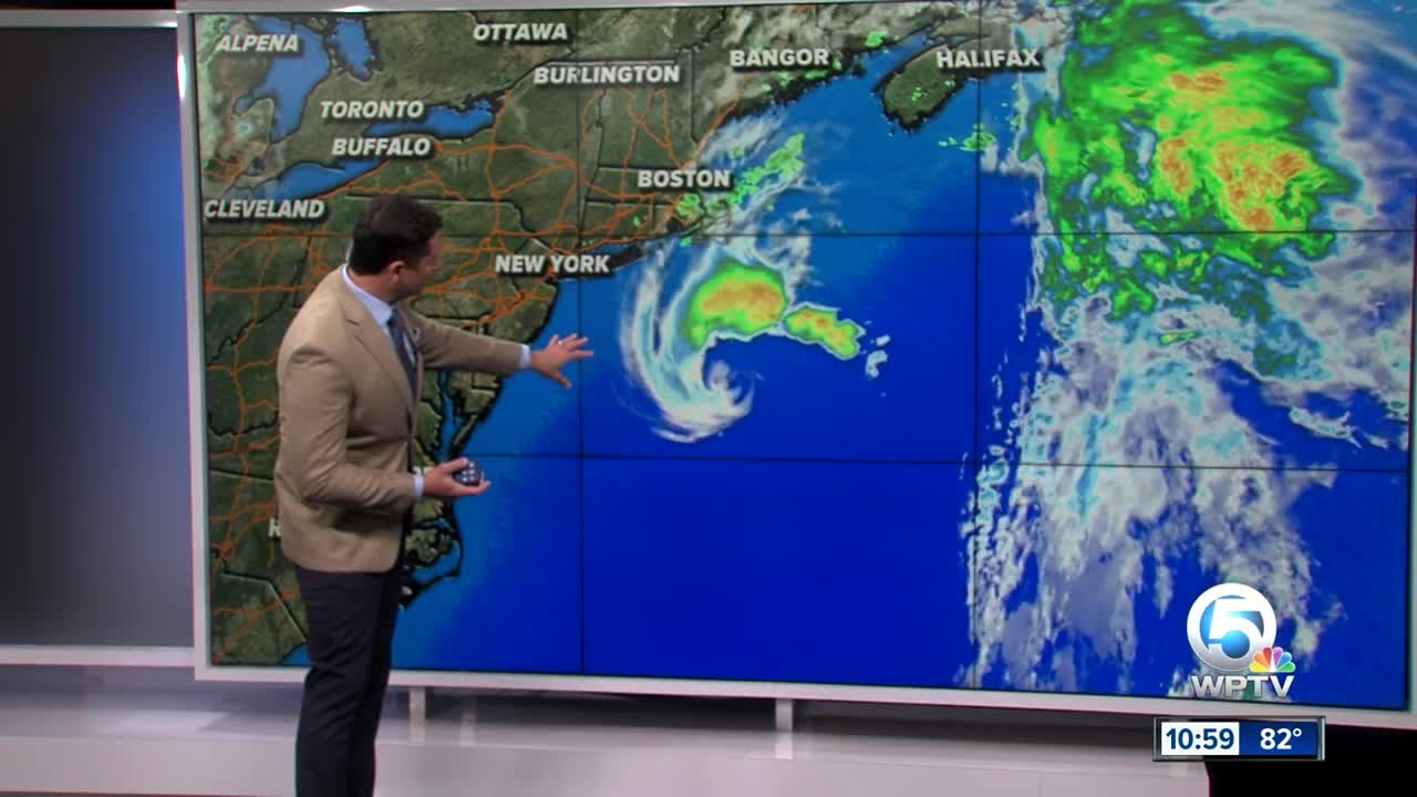 Tropical Storm Melissa forms off northeast; will weaken