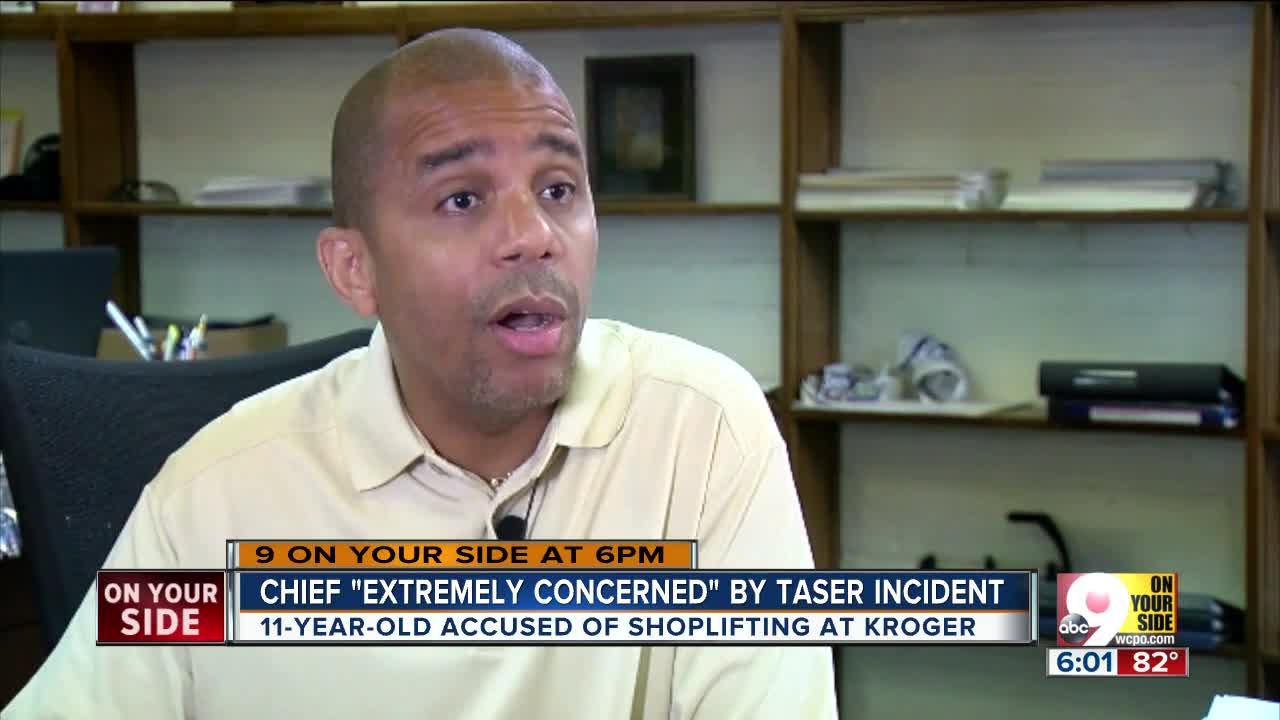 Cincinnati police chief 'extremely concerned' by off-duty officer's