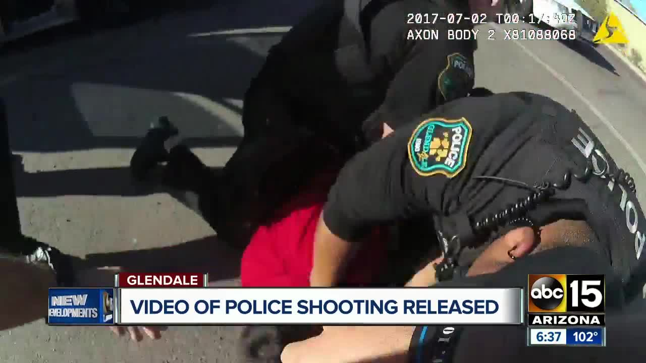 Glendale police releases new video of 2017 deadly officer