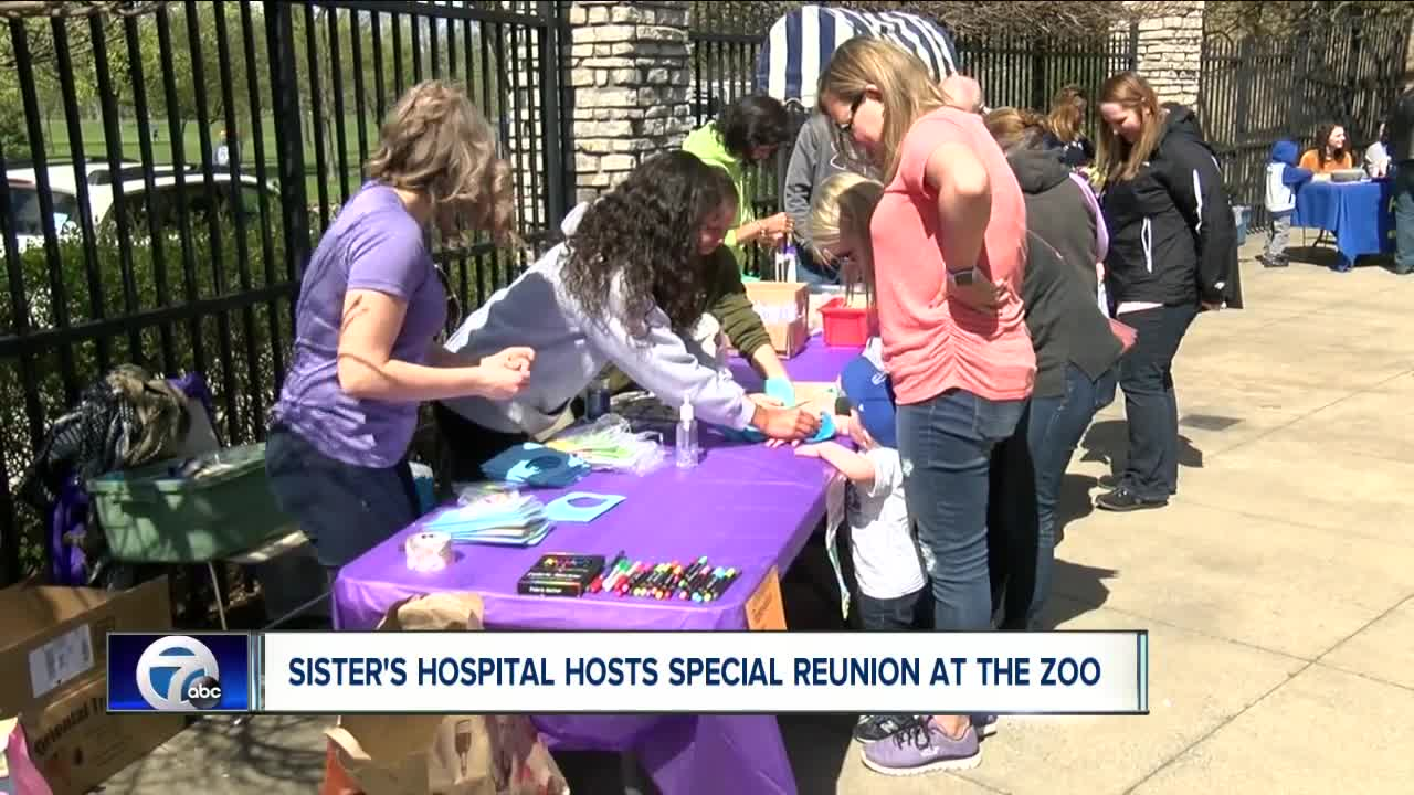 Event Reunites Families With Doctors And Nurses Who