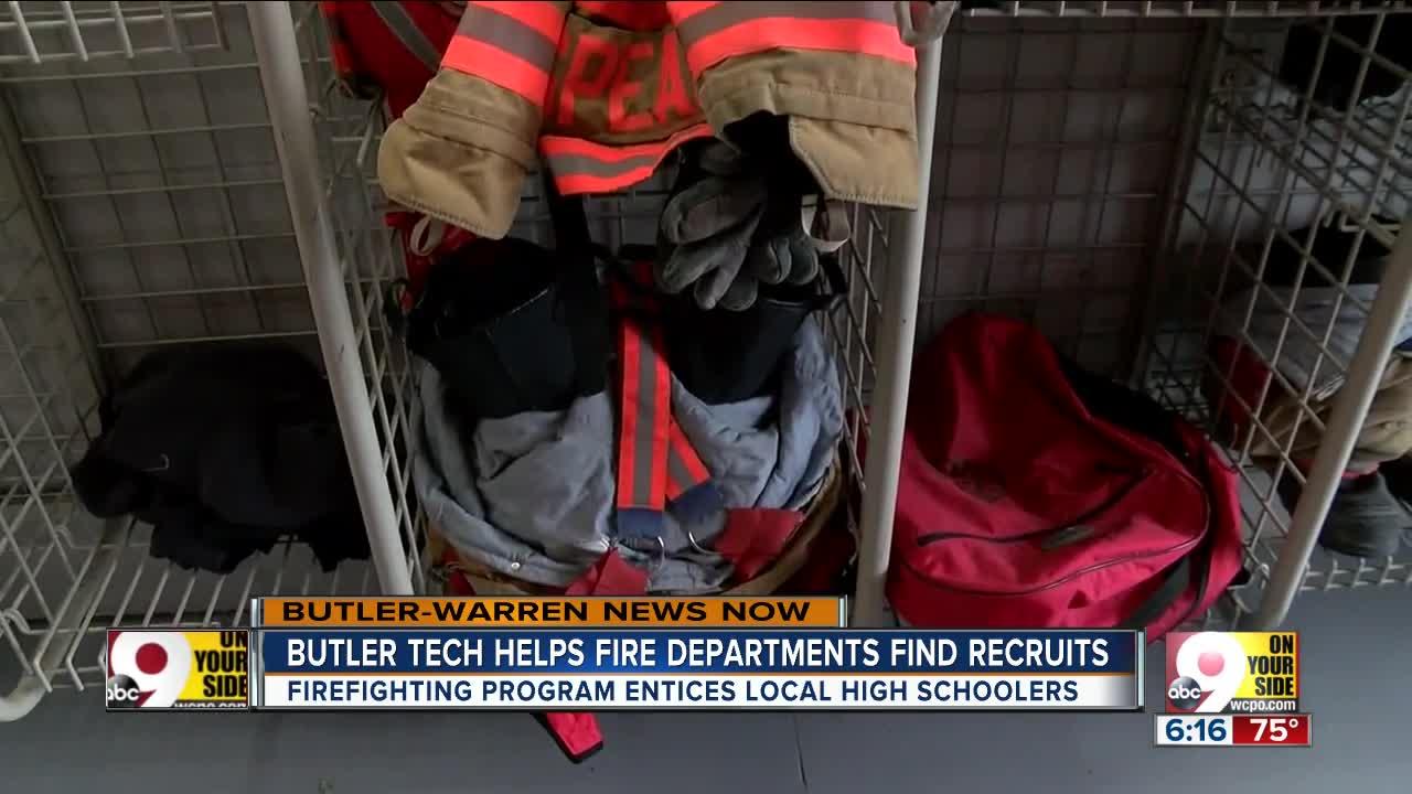 Butler Tech program prepares next generation of firefighters