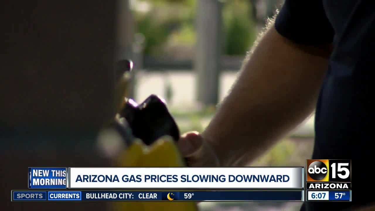 Gas Prices In Arizona >> Arizona Gas Prices Remain High But Dipping Slightly Aaa