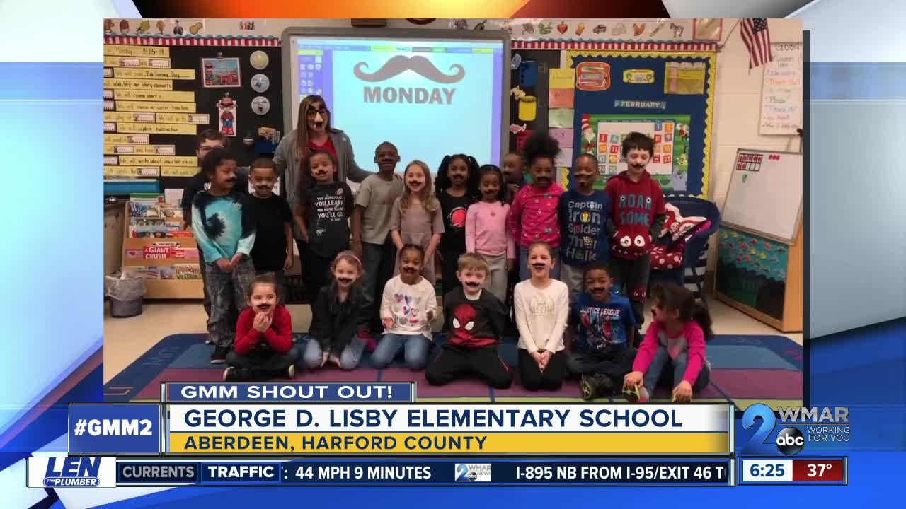 Good Morning From George D. Lisby Elementary School