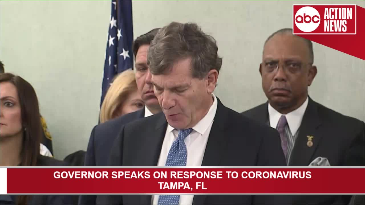 CORONAVIRUS: Florida health emergency declared