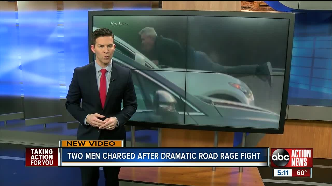 Drivers Charged In Mass Pike Road Rage Video Due In Court