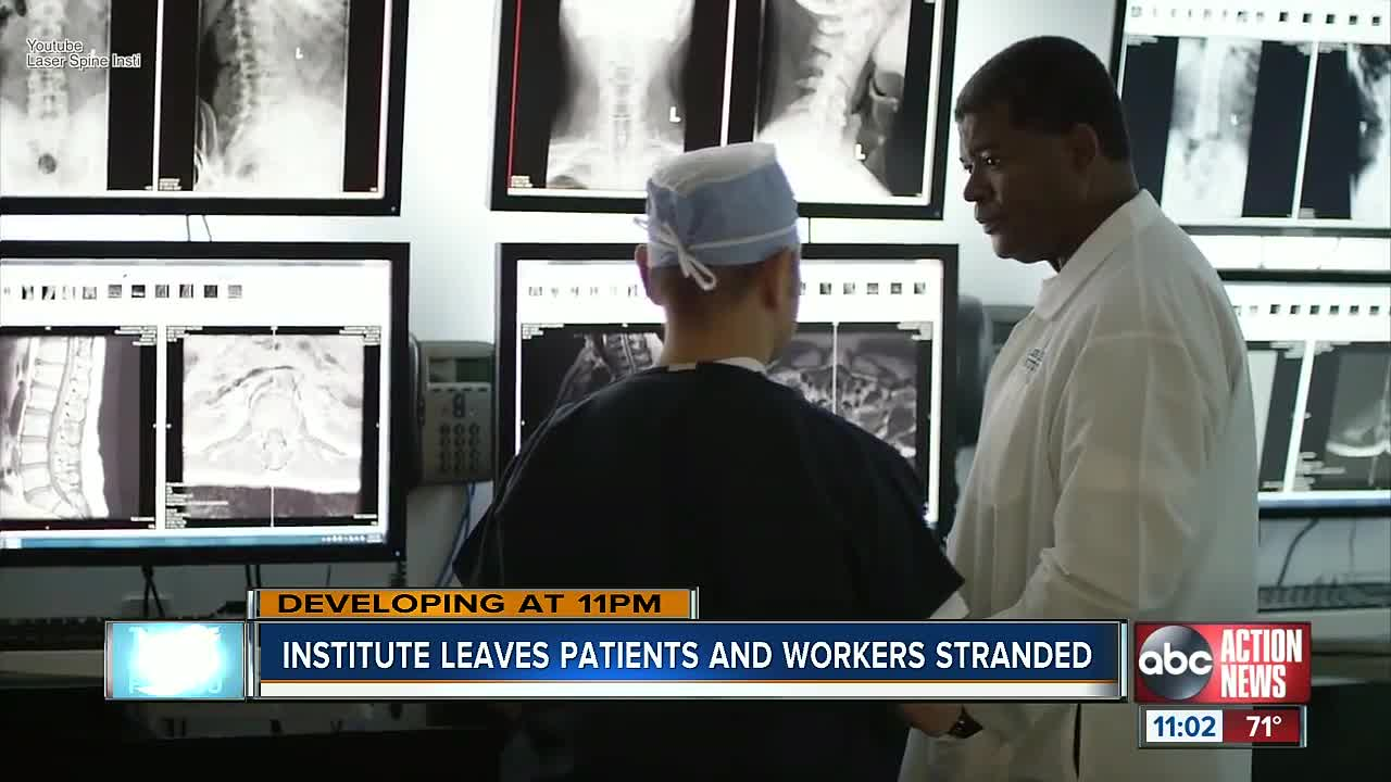 Laser Spine Institute operations shut down, more than 1,000