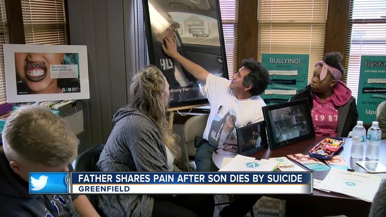 Allis Suicide we need to do something:' greenfield father speaks out after