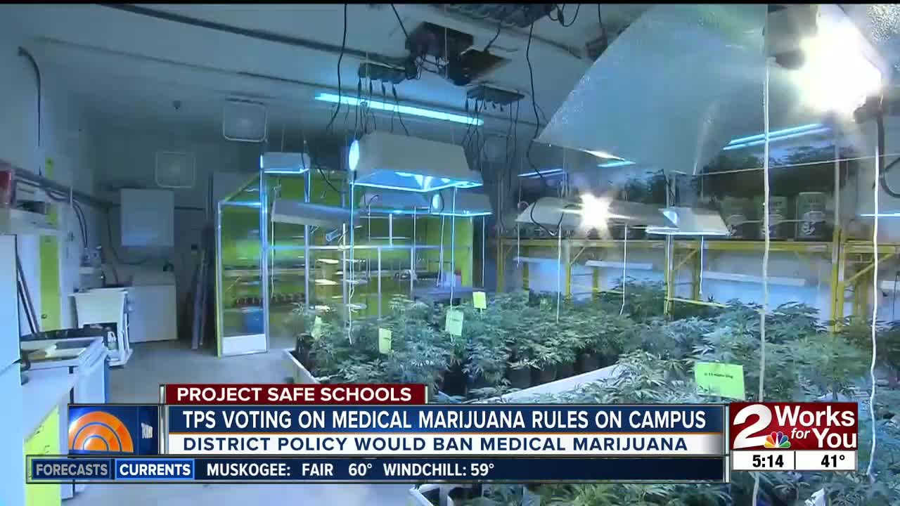 Tulsa Public Schools Board Will Vote On Banning Medical Marijuana On